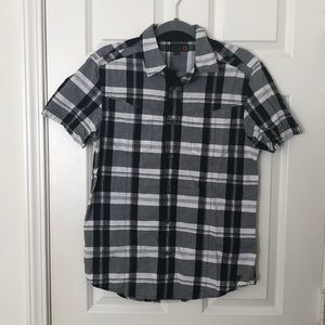 Guess Short Sleeve Button Down Shirt